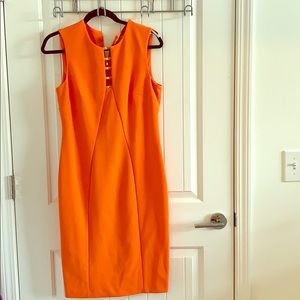 Classic Calvin Klein coral orange